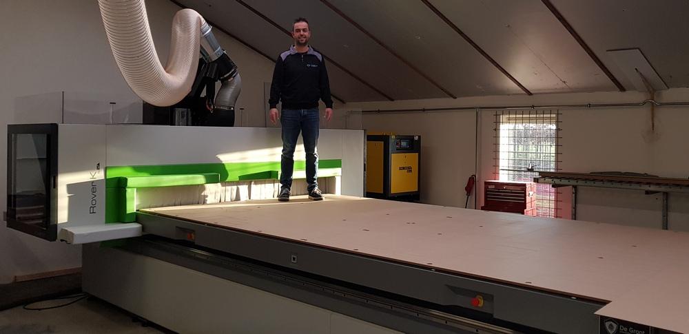 Biesse Rover CNC freesmachine
