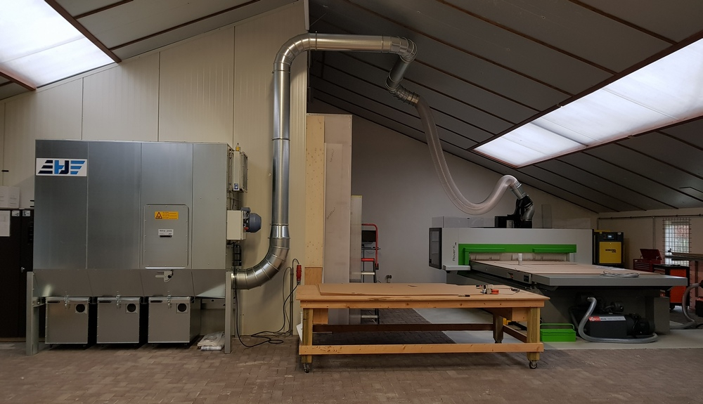 Biesse Rover CNC machine