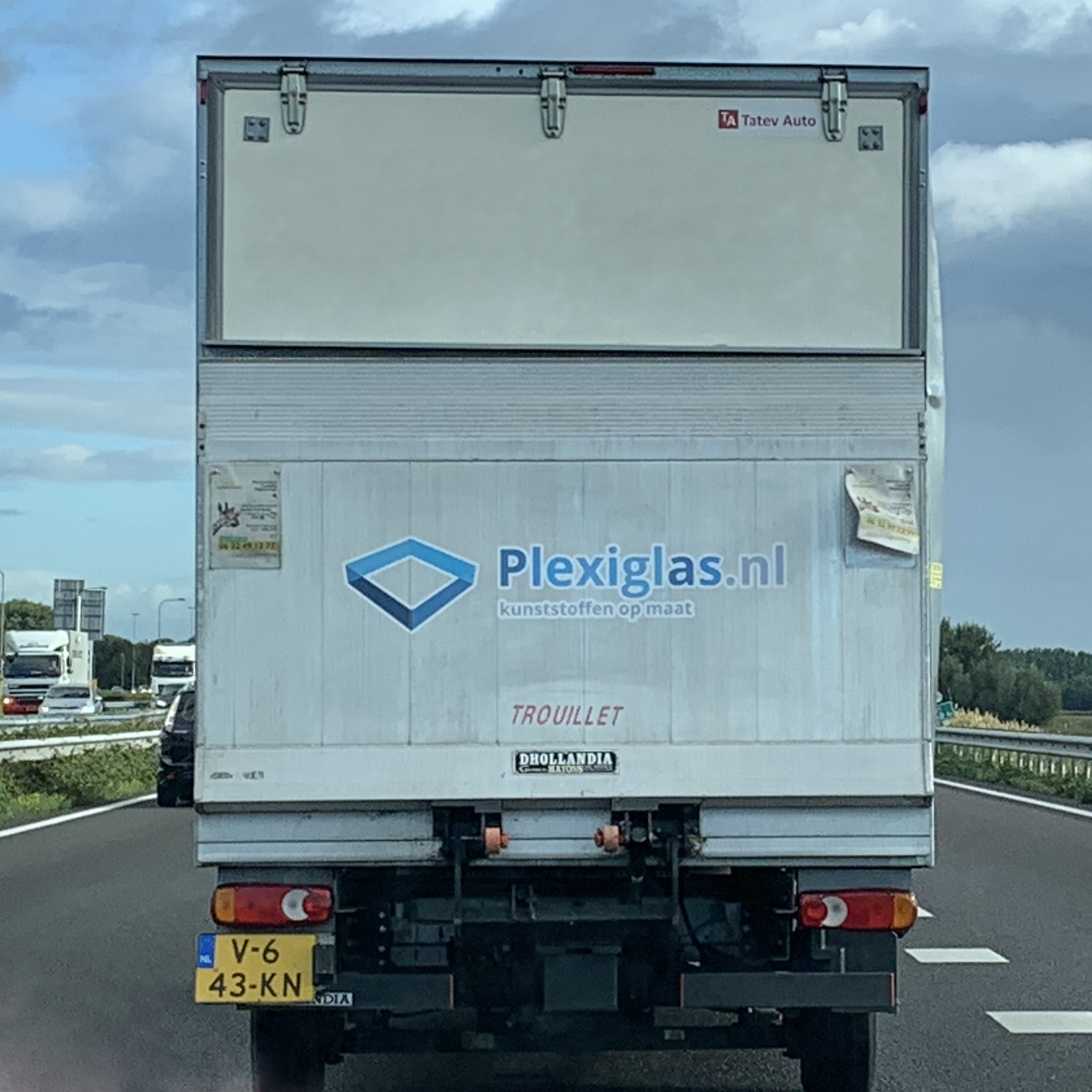 bezorging Plexiglas.nl