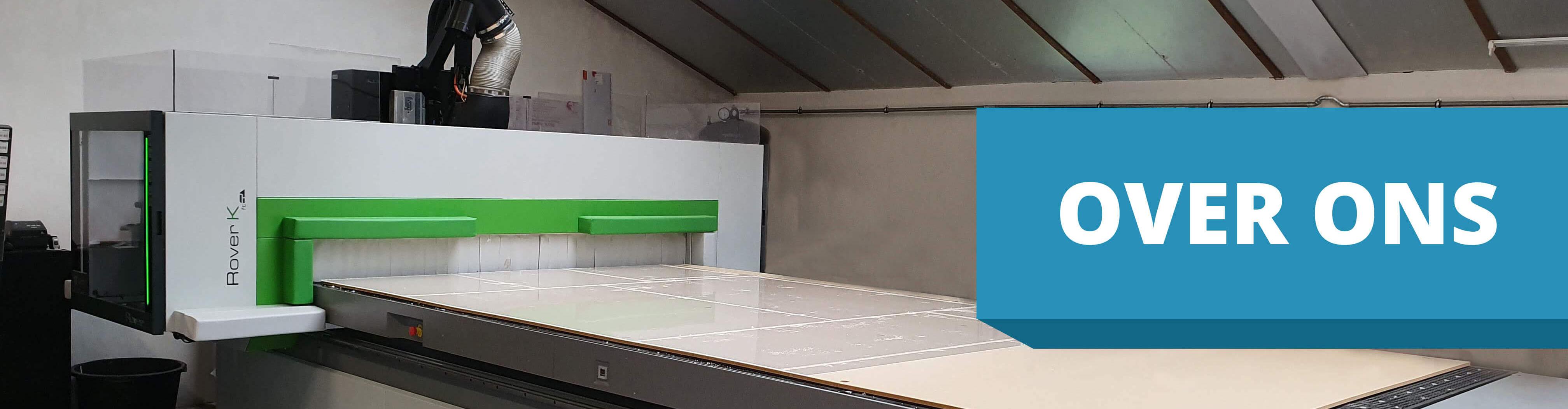 CNC machine plexiglas.nl