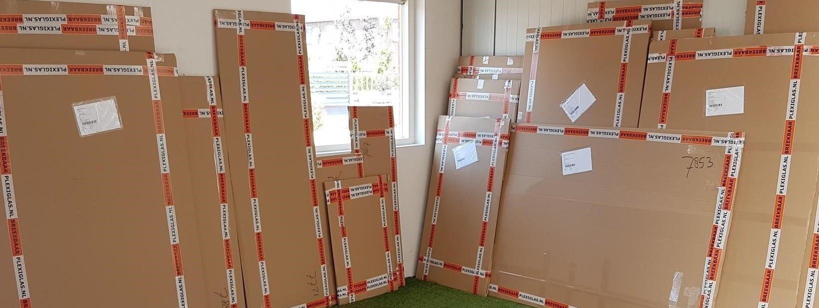 Pakketten klaar voor verzending