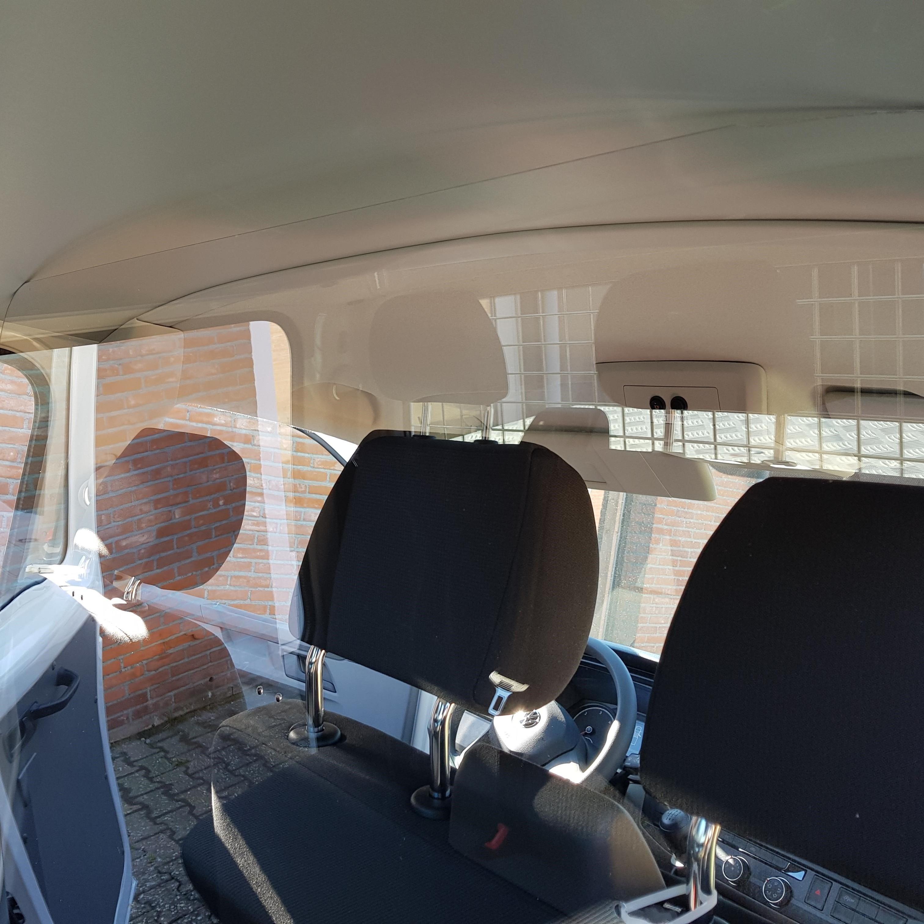 plexiglas corona scherm auto