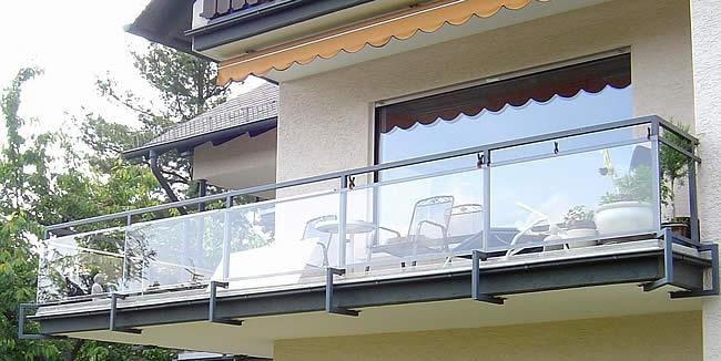 Balkon windscherm polycarbonaat