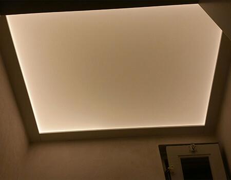 Verlicht plafond