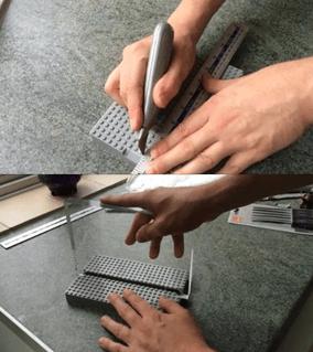 Plexiglas LED-embleemlamp maken stap 1