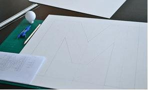 Plexiglas lichtletters maken stap 1.1