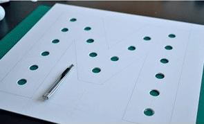 Plexiglas lichtletters maken stap 1.2